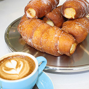 Fuel Espresso Custard Donuts